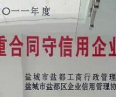 重合同守信用企业2011